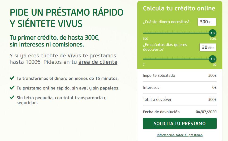 Vivus- Formulario de solicitud
