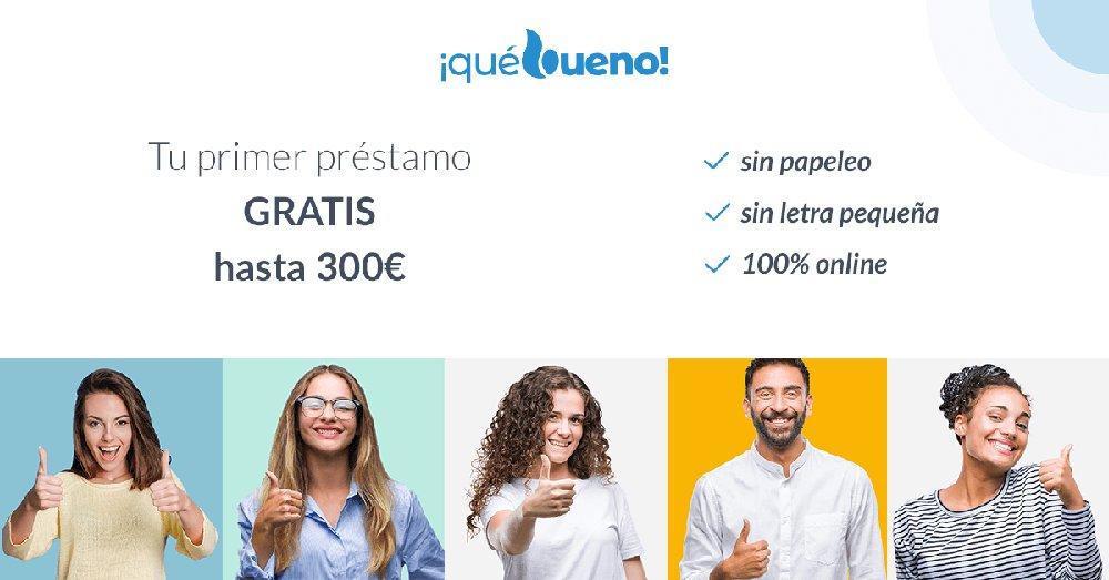 QueBueno - Primer préstamo gratis