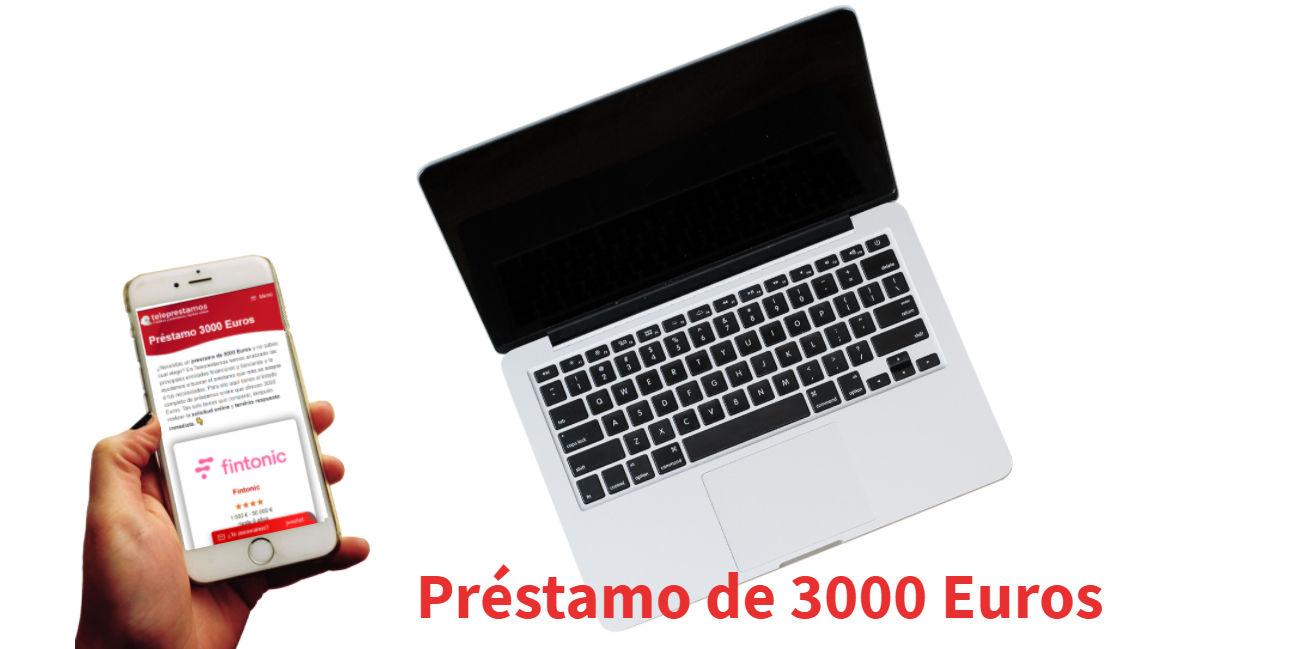 Préstamo 3000 Euros